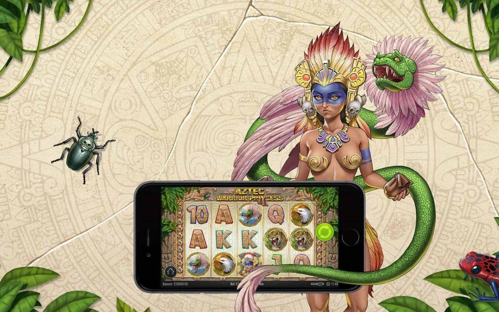 Aztec Warrior Princess a apuestas y casino