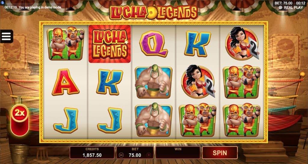 Lucha Legends tragamonedas gratis a apuestas y casino online