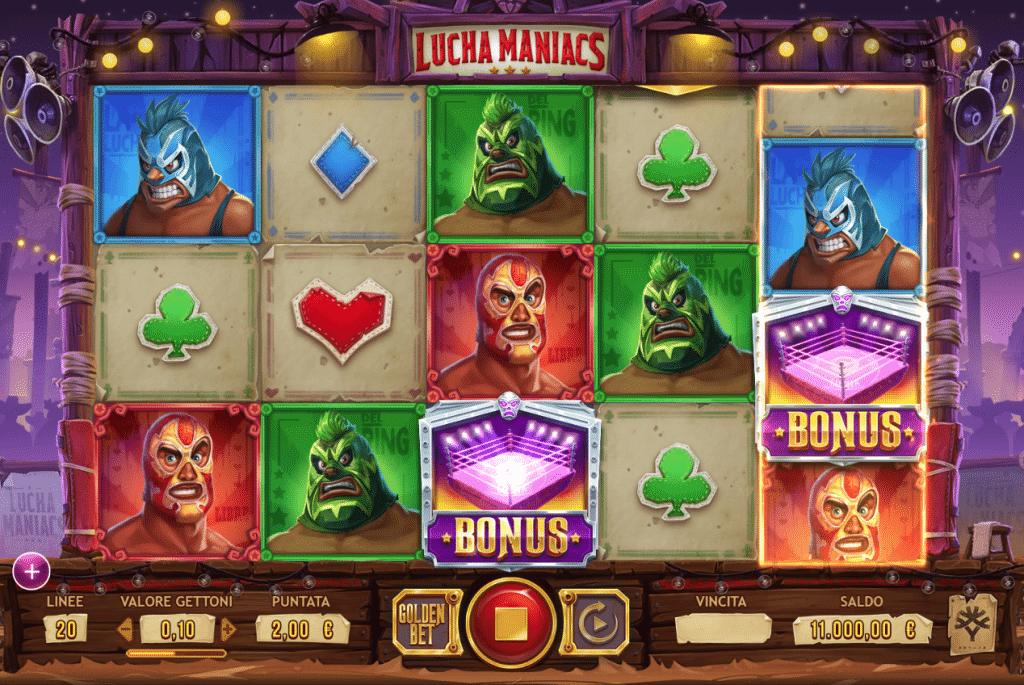 Lucha Maniacs tragamonedas gratis a apuestas y casino online
