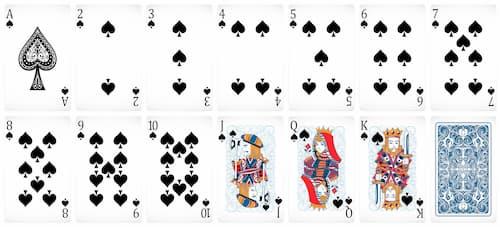 Cartas de Poker negras . Como jugar poker