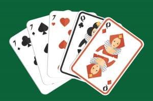 Mano de poker full house