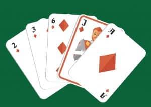 Mano de poker corlor o flush
